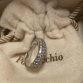 ポンテヴェキオ(PonteVecchio)のポンテヴェキオ リング ダイヤモンドリング K18WG(リング(指輪))