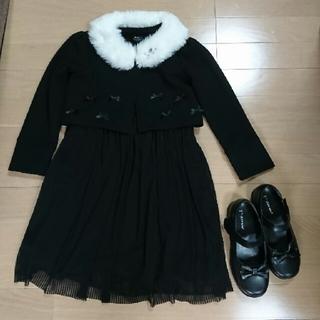 シマムラ(しまむら)の入学式、卒園式 ワンピース セット(ドレス/フォーマル)