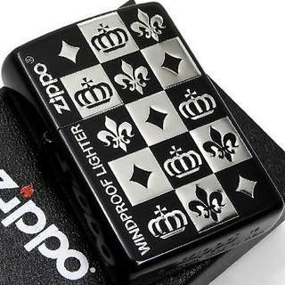 ジッポー(ZIPPO)の(送料込み)ZIPPO◇アーバンゴシック/チェック◇黒☆銀◇新品◇ジッポ(タバコグッズ)