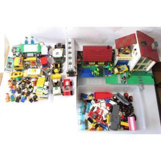 Lego - 大人が管理 レゴ LEGO 正規品 大量 処分 シティ 車や家ミニフィグなど