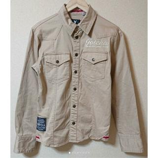 ガッチャ(GOTCHA)の美品  GOTCHA スプリングシャツ 春物 ウェスタンシャツ レディース OK(シャツ)