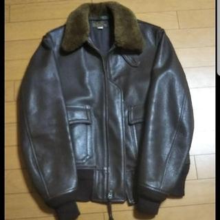 THE REAL McCOY'S - リアルマッコイズ G-1フライトジャケット USNステンシル入 貴重