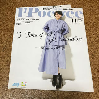 ポコチェ 2018.11 波留×西島秀俊(アート/エンタメ/ホビー)