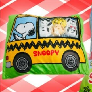 SNOOPY - スヌーピー 窓つきクッション 新品