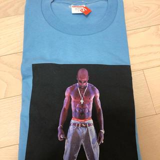 Supreme - 20ss tupac tシャツ 2パックブルー青シュプリームsupreme