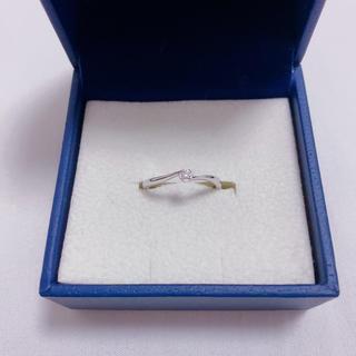 ヴァンドームアオヤマ(Vendome Aoyama)のヴァンドー青山 ダイヤモンド 10K ホワイトゴールドリング(リング(指輪))