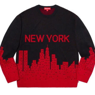 Supreme - Supreme New York Sweater シュプリーム week1