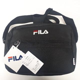 FILA - 新品タグ付き 黒 フィラ ショルダーバッグ