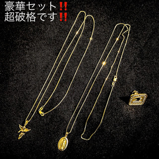 Supreme - 【豪華2本セット】supreme pins necklace ネックレス 14k