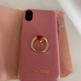 miumiu - miumiu iPhone Xケース