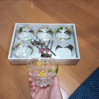 東洋佐々木ガラス - グラス レトロです!未使用 可愛いです。お値下げ… 固めのプリンなどに