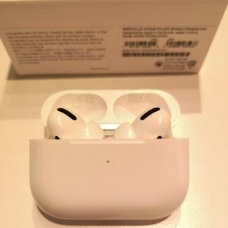 アップル(Apple)のairpods pro 美品 即日発送(ヘッドフォン/イヤフォン)