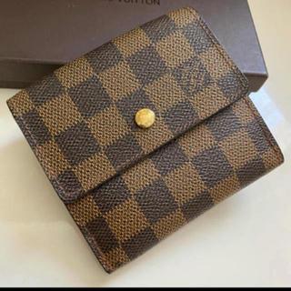LOUIS VUITTON - 美品正規品ルイヴィトンダミエWホック折財布