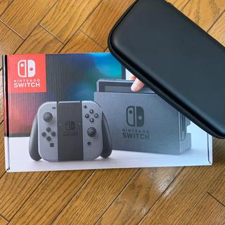 Nintendo Switch - Nintendo Switch グレー ケースセット