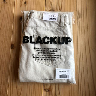 STYLENANDA - blackup ロプストレートパンツ