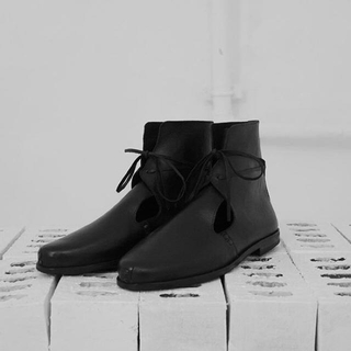 COMME des GARCONS - omar afridi leather shoes オマールアフリーディー
