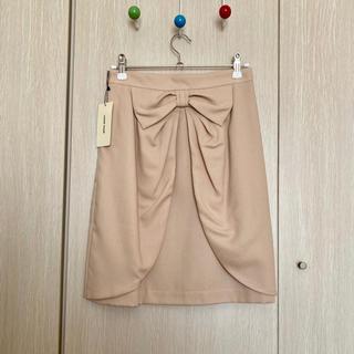 LAISSE PASSE - 新品タグ付き◆定価12,600円◆レッセパッセ ベージュスカート