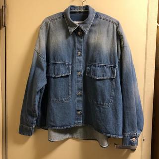 MM6 - MM6 MAISON MARGIELA オーバーサイズデニムシャツ