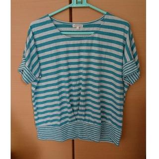 サンカンシオン(3can4on)の半袖 レディース M ボーダー Tシャツ(カットソー(半袖/袖なし))
