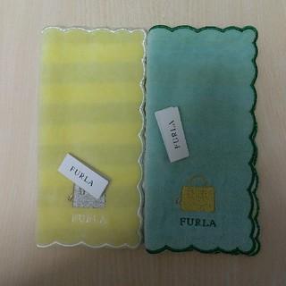 Furla - フルラ タオルハンカチ 2枚 新品 ⑩