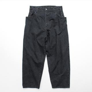 サンシー(SUNSEA)の stein  EX Wide Hooked Denim Jeans(デニム/ジーンズ)