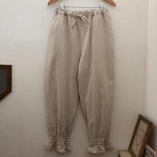 サマンサモスモス(SM2)の新品☆サマンサモスモス 可愛い 裾絞りパンツ☆今季春物新作 大人気商品 キナリ(カジュアルパンツ)