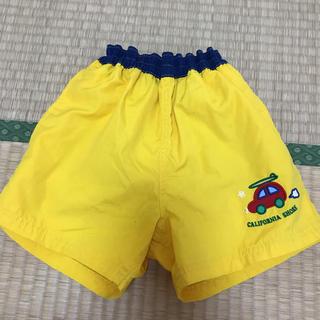 水着 ハーフパンツ 110 cm 黄色