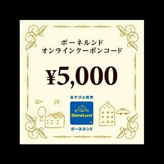 BorneLund - ボーネルンド 5000円クーポン