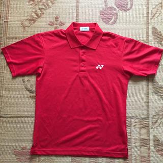 YONEX - YONEX ポロシャツ Mサイズ 赤色