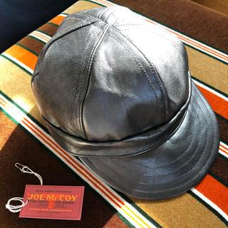 ザリアルマッコイズ(THE REAL McCOY'S)のリアルマッコイズ  BA19105 LEATHER WORK CAP(キャップ)