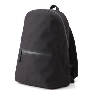 ムジルシリョウヒン(MUJI (無印良品))の無印良品 防水テープ使い リュックサック 黒 ブラック 自転車 バッグ 鞄 無印(バッグパック/リュック)