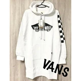 ヴァンズ(VANS)のVANS<新品>パーカー ワンピース(ミニワンピース)