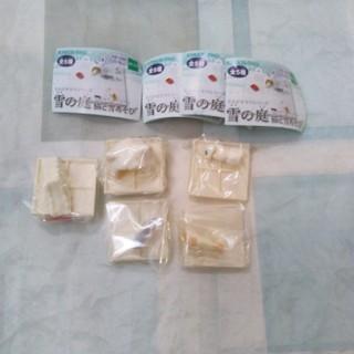 エポック(EPOCH)のエポック ミニジオラマシリーズ 雪の庭 猫と雪遊び コンプリセット 廃盤品?新品(その他)
