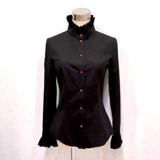 Vivienne Westwood - 極美品 ヴィヴィアンウエストウッド 襟 袖 フリル シャツ