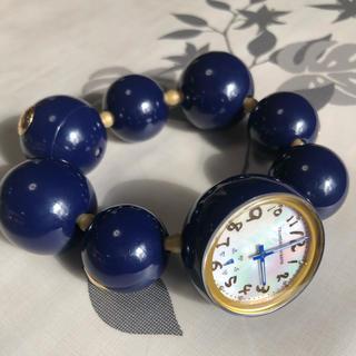 TSUMORI CHISATO - ツモリチサト 腕時計 ハッピーボール ネイビー色