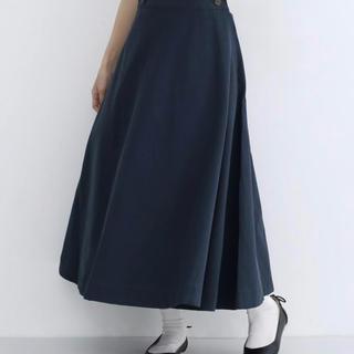 merlot - メルロー Merlot台形スカート  ネイビー タグ付き