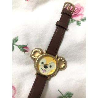 ダッフィー(ダッフィー)のダッフィー 腕時計 本革(腕時計)