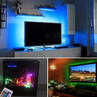 大人気!取付超かんたん^_^液晶テレビ RGB LED 間接照明 バックライト(テレビ)