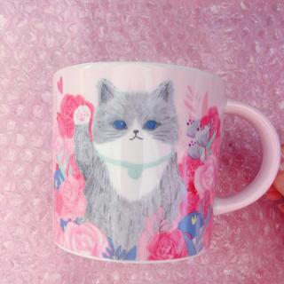 Starbucks Coffee - 【新品】台湾スターバックス限定 ネコ マグカップ