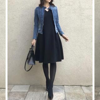 ダブルスタンダードクロージング(DOUBLE STANDARD CLOTHING)のAKKO × Sov. / Vネックドレープワンピース(ひざ丈ワンピース)