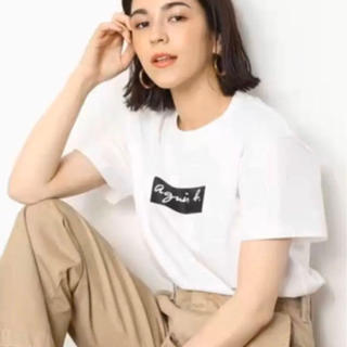 agnes b. - 【Agnes b】アニエスベー★Tシャツ・XLサイズ★レディース★ホワイト