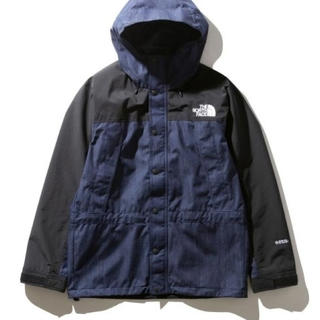 THE NORTH FACE - thenorthface mountain light denim jacket