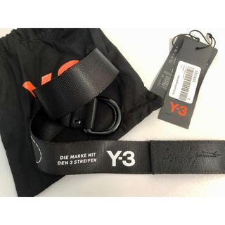 ワイスリー(Y-3)のY-3 STREET BELT Lサイズ(ベルト)