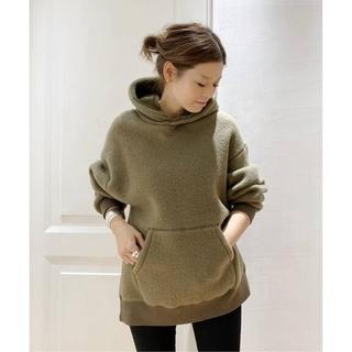 DEUXIEME CLASSE - 新品 Deuxieme Classe military pile hoodie