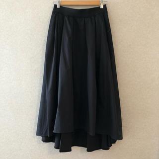 アドーア(ADORE)のADORE ロングスカート 38 黒(ロングスカート)