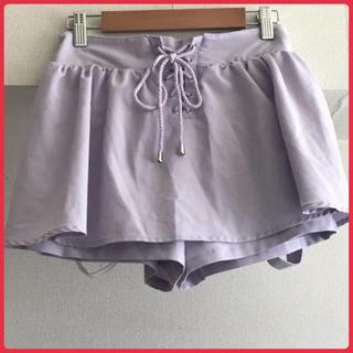 エムズエキサイト(EMSEXCITE)の【美品】キュロット ミニスカート  2way サスペンダースカート 吊りスカート(キュロット)