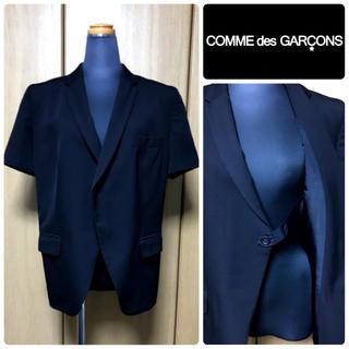 コムデギャルソン(COMME des GARCONS)のCOMME des GARCONS 変形ジャケット コムデギャルソン【美品】(テーラードジャケット)