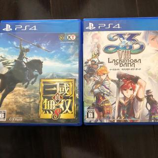 PlayStation4 - 三國無双8 イース8 セット