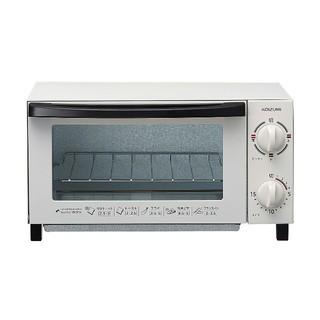 コイズミ(KOIZUMI)のKOIZUMI オーブントースター ホワイト 新品(調理機器)