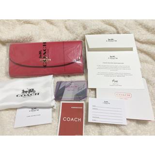 COACH - 新品 COACH コーチ  長財布 正規品
